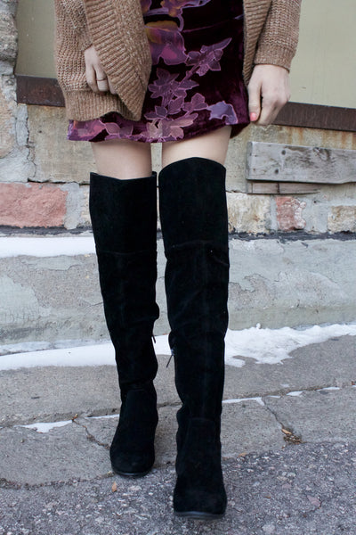 Jack Of All Trades Thigh High Boot (Black)