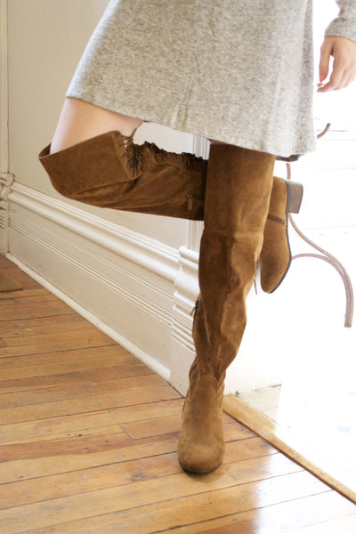 Cheyenne Crossing Thigh High Boot