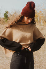 Clyde Color Block Sweater