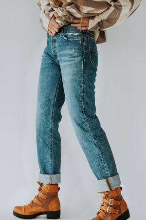 LEVI'S: 501® JEANS FOR WOMEN ATHENS DARK