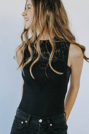 Free People: On Point Bodysuit