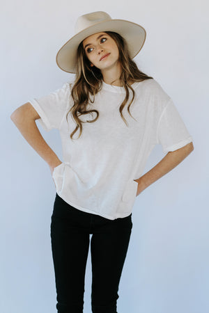 Free People: Cassidy Tee (White)