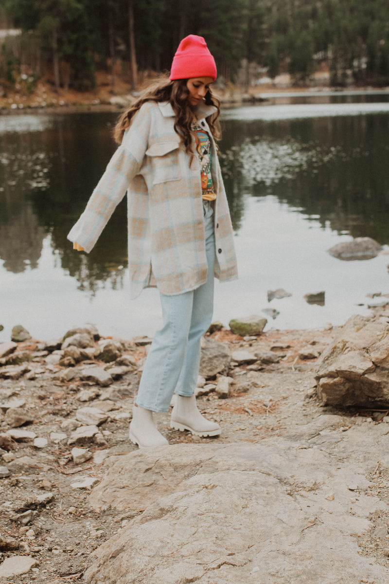 Brenna Plaid Shacket
