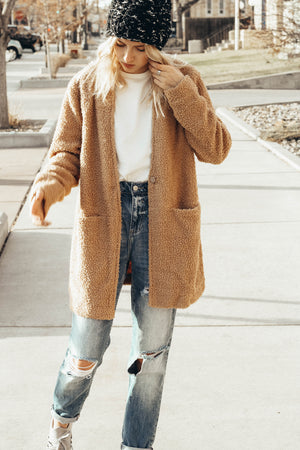 Cozy Casual Teddy Bear Coat