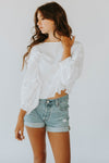 Free People Inspo Tee in White