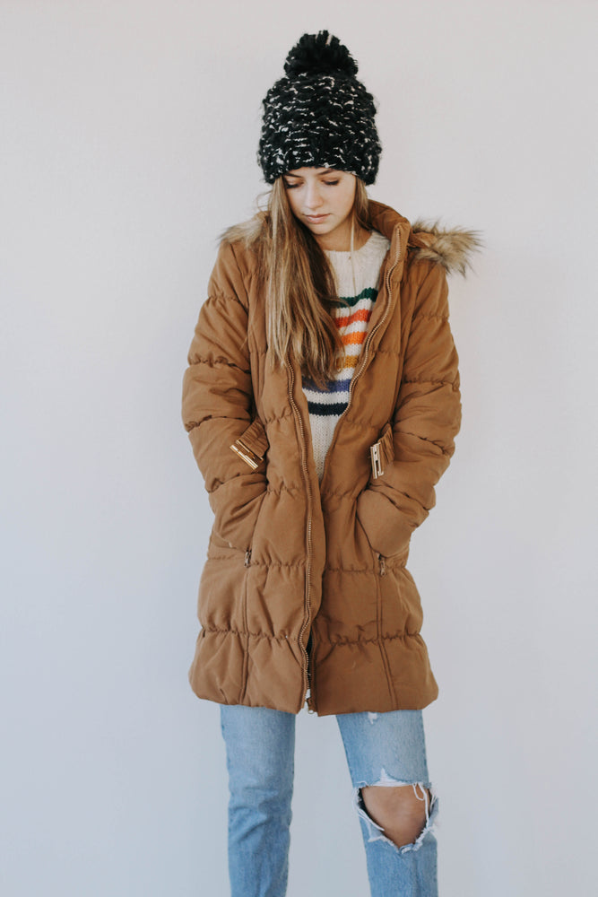 BF: Steamboat Puffer Jacket (Camel)