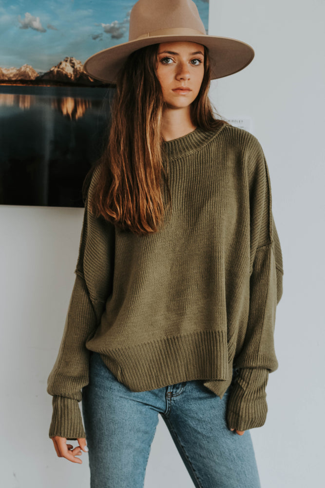 Gigi Mock Neck Sweater