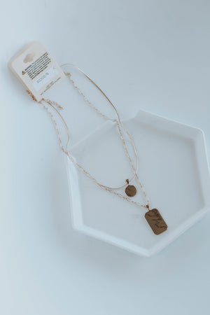 Layered Pendent Necklace