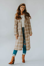 Louie Plaid Long Jacket