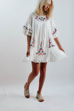 Avalon Ruffle Day Dress