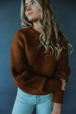 Bernice Sweater in Camel