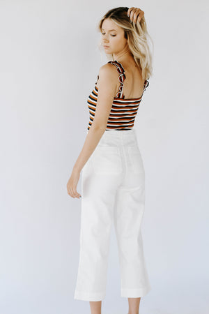 Maeve Wide Legged Pants (White)