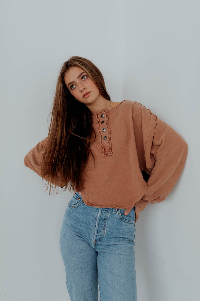 Free People: Melodi Henley Top