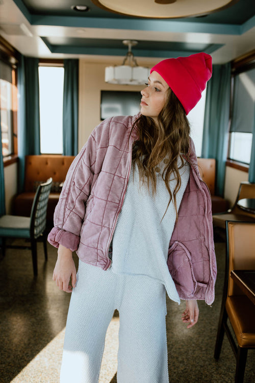 Free People: Dolman Jacket in Daphne