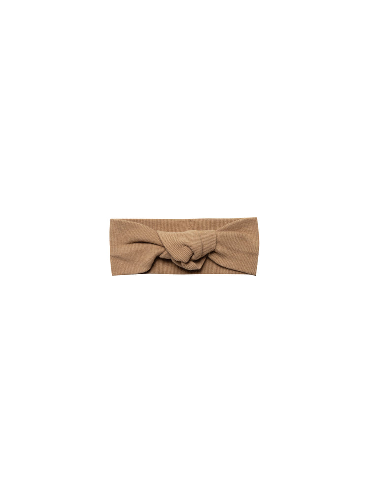 Quincy Mae: Ribbed Turban (Copper)