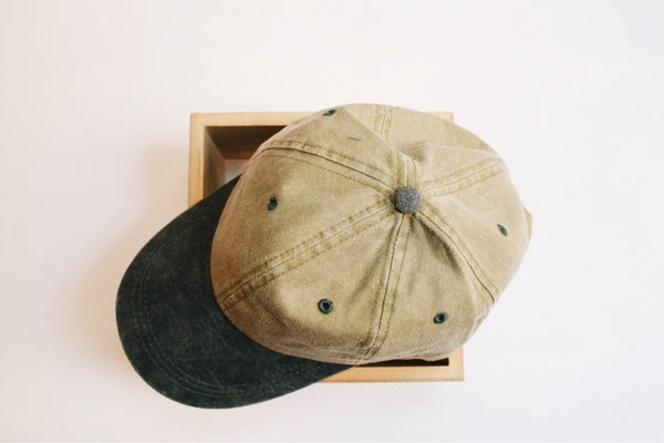 Two Sides Baseball Cap (Khaki)