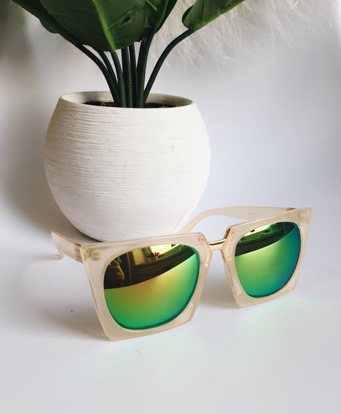 Throwing Shade Sunglasses (Green)