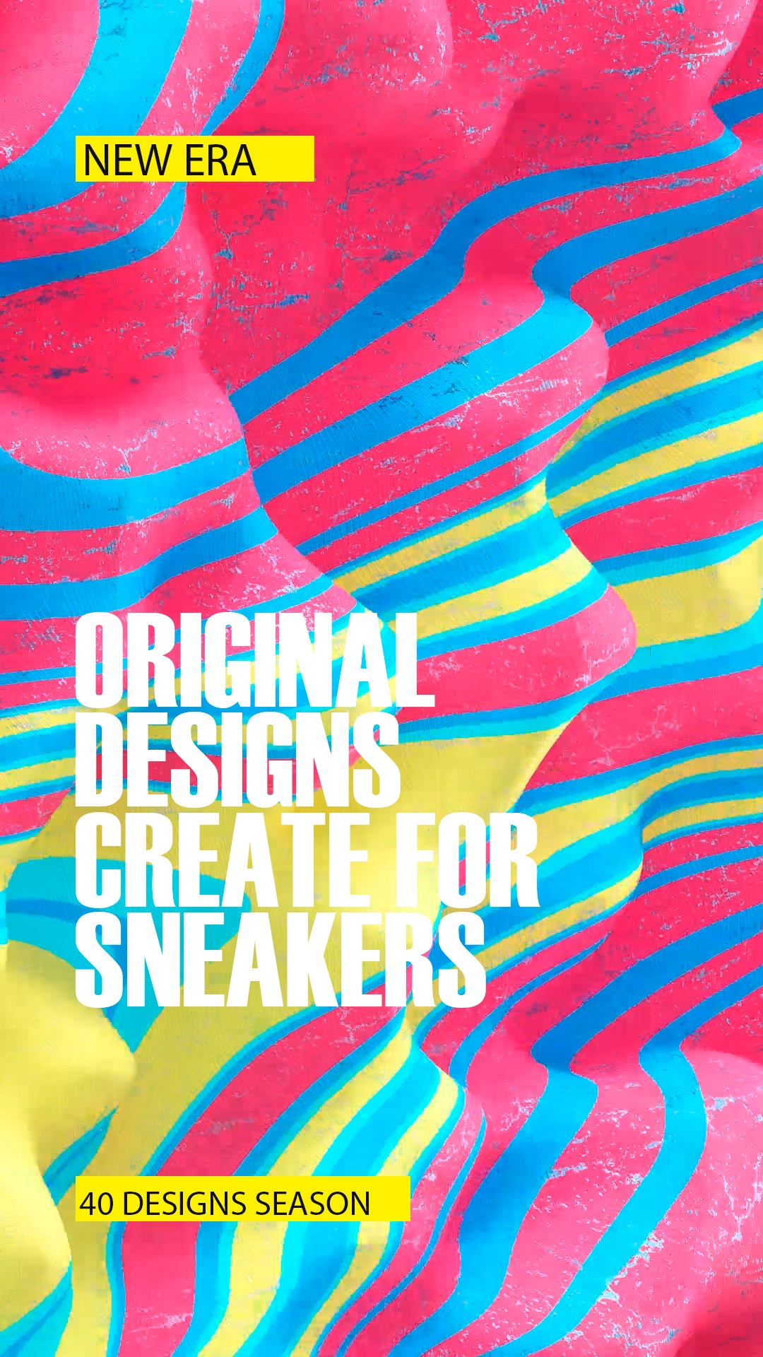 We only design for Sneakers and Footwear