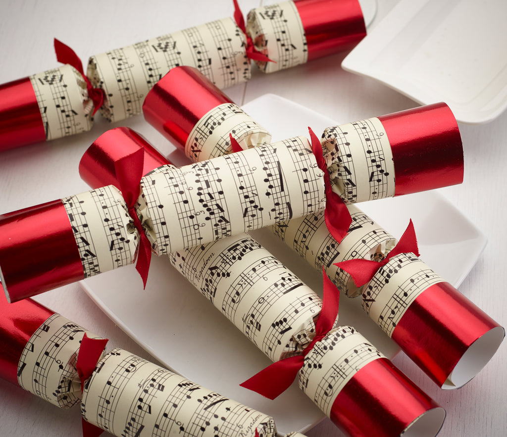 musical christmas crackers