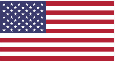 usa flag for domestic shipping