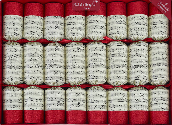 "8 x 14"" Handbells Musical christmas crackers by Robin Reed - contains metal bells"