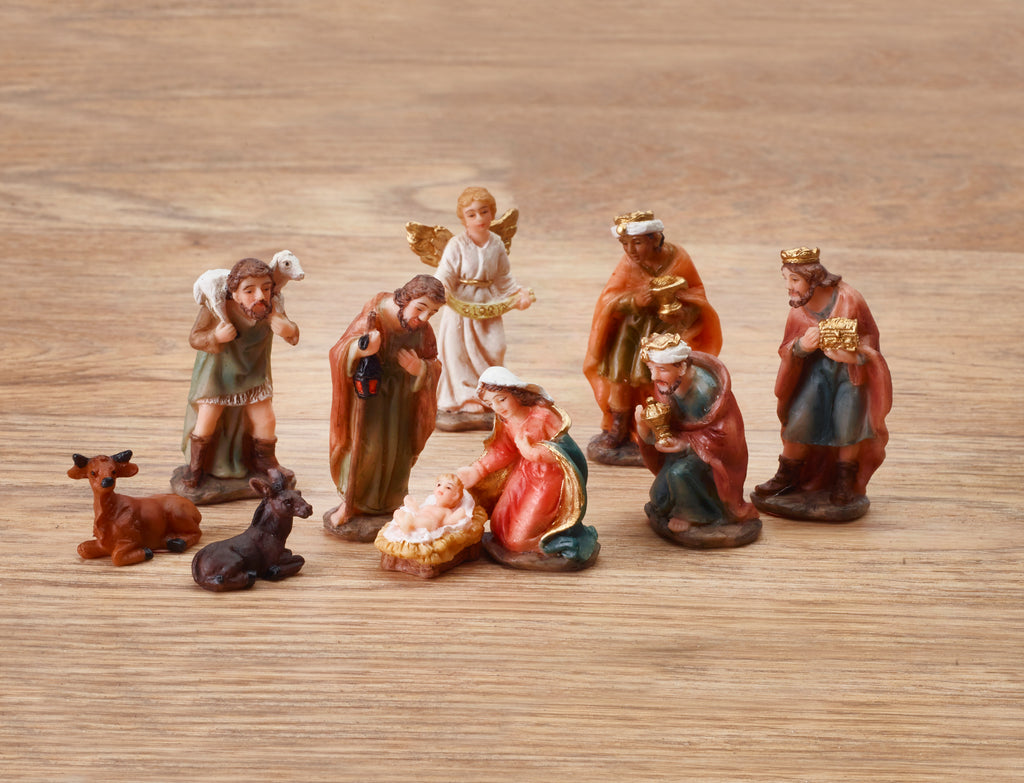 "8 x 12"" (30cm) Christmas Crackers NATIVITY COLLECTABLES - by Robin Reed (61702)"