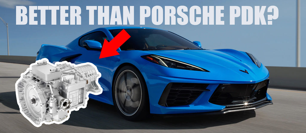 How the new C8 Corvette DCT Transmission works