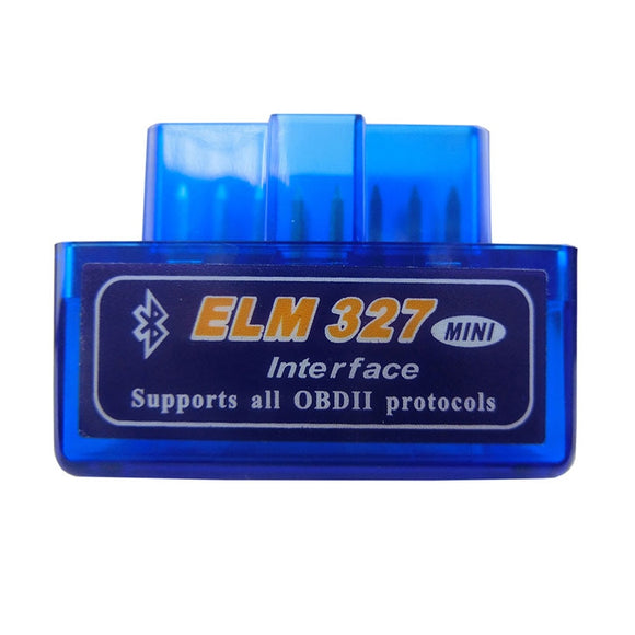 Super Mini Elm327 Bluetooth OBD2 V1.5  Car Diagnostic-Tool Scanner