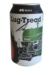 Beaus Lug Tread 4-Pack 355ml Cans - White Lily Diner