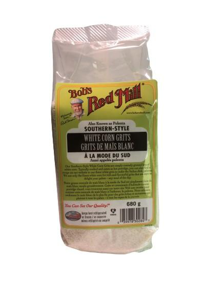 Bob's Red Mill Organic Corn Grits 1lb - White Lily Diner