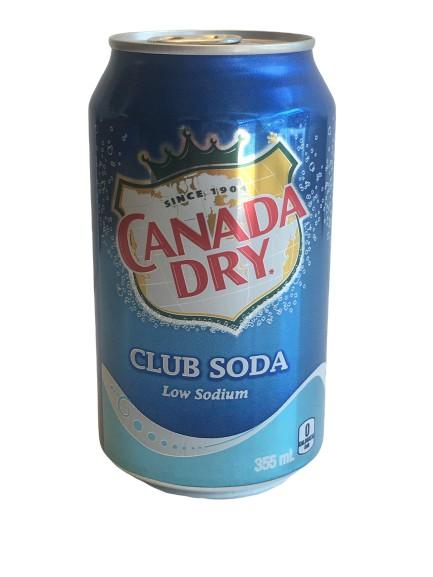 Canada Dry Club Soda - White Lily Diner