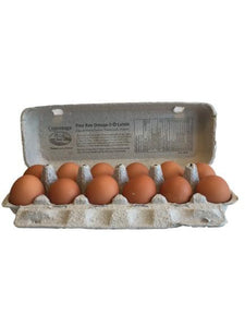 Conestoga Farms Free-Run Eggs Large 1 Dozen - White Lily Diner