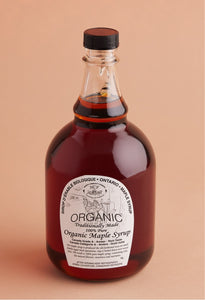 Organic Maple Syrup 1L - White Lily Diner