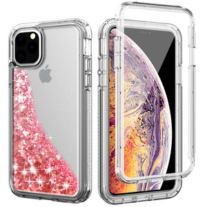 360° Protective Glitter Case for iPhone 11 Series