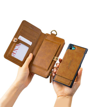 Classic Retro Stand Wallet Case for Samsung