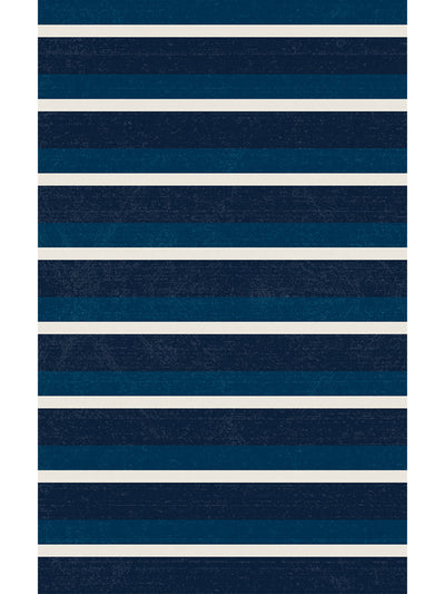 Classic Stripes Vinyl Floor Mat