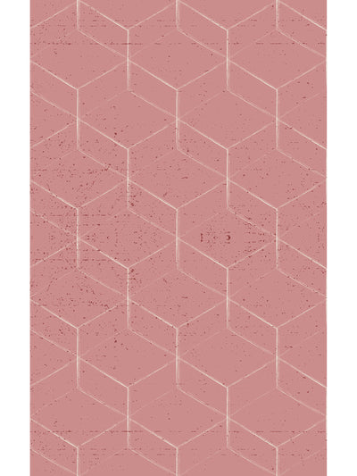 Hex Vinyl Living Room Rug