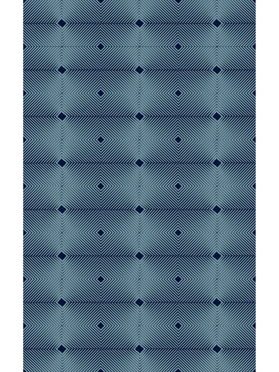 Vibrating Diagonals Vinyl Floor Mat