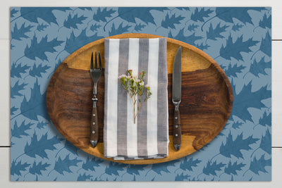 Autumn Oak Vinyl Placemats