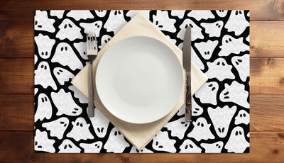 Ghostly Gathering Vinyl Placemats