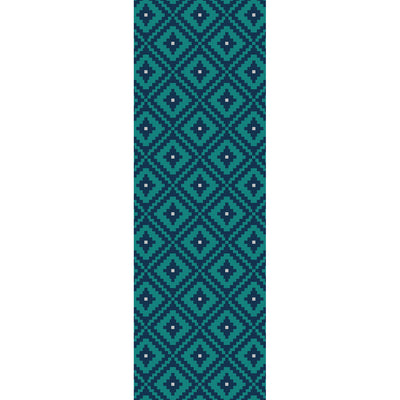 8 Bit Diamonds Vinyl Runner Rug