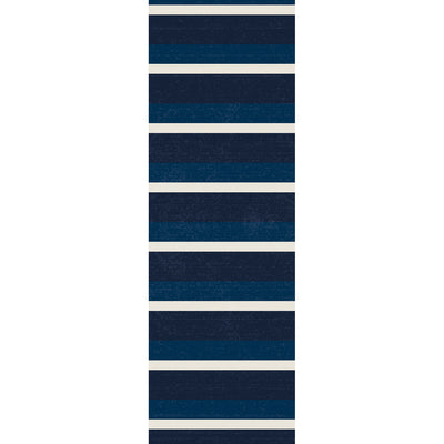 Classic Stripes Vinyl Runner Rug