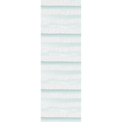 Watercolor Stripes Vinyl Runner Rug