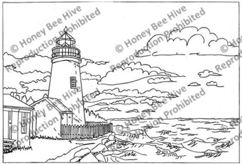 1154: Pemaquid Light House, Offered by Honey Bee Hive