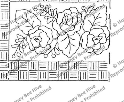 1388: Three Rose Antique, Offered by Honey Bee Hive