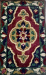 Early Persia, rug hooked by Kathy Donovan