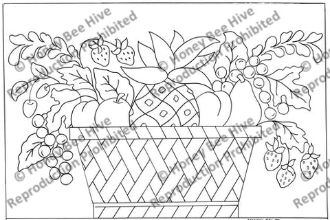 1560: Caswell Fruit Basket, Offered by Honey Bee Hive