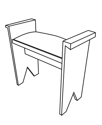 FS-BF01: Bench Stool