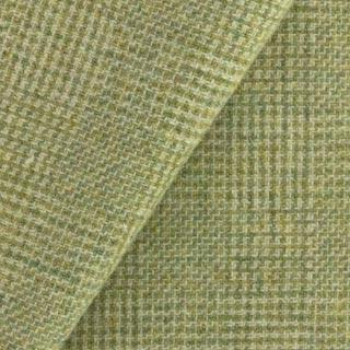 Wool fabric for rug hooking, Simple Sage Green & Natural Plaid, offered by Honey Bee Hive