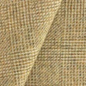 Wool fabric for rug hooking, Simple Gold & Natural Plaid, offered by Honey Bee Hive